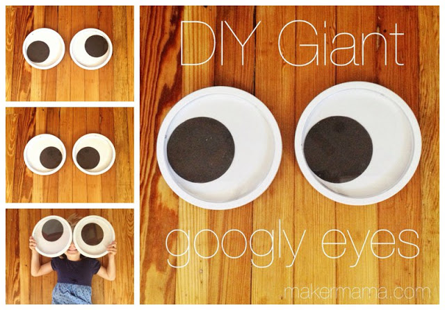 diy giant googly eyes