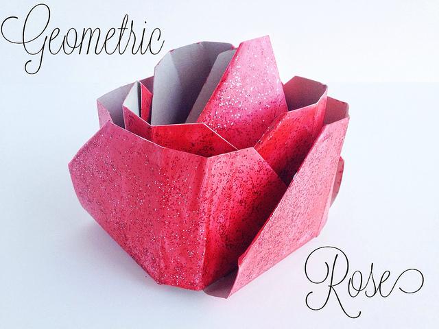 geometric-rose