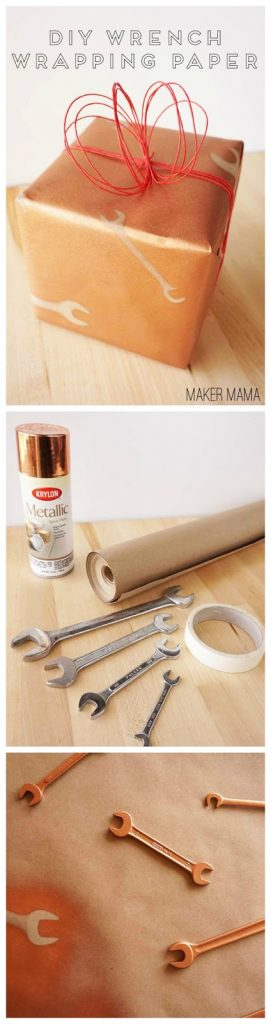 DIY-Wrench-Wrapping-Paper-Pin