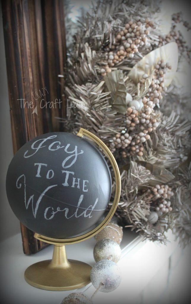 chalk-globe