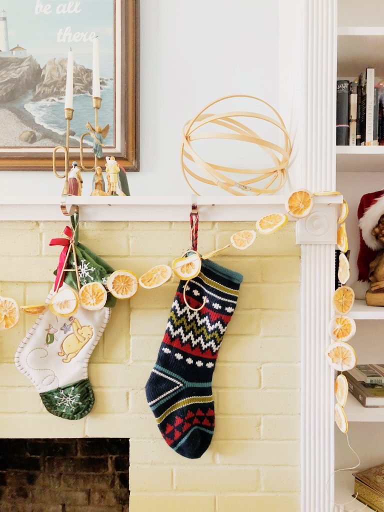 DIY Dried Orange Garland and Citrus Ornaments | Maker Mama