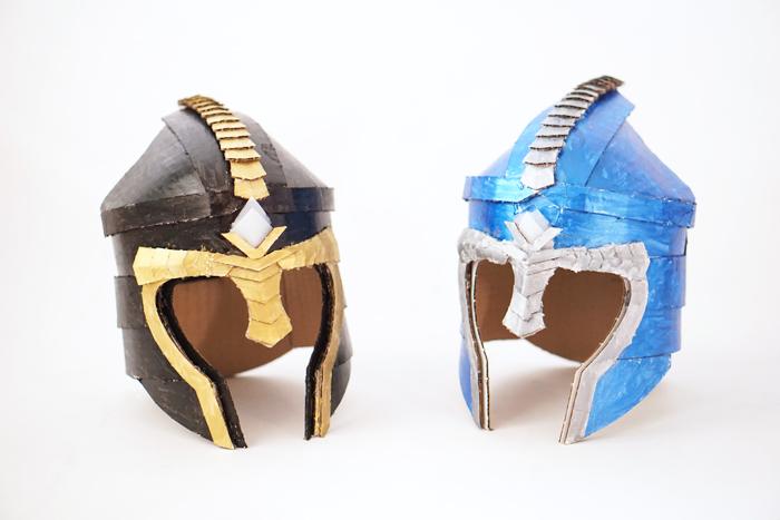Crafteeo-Cardboard-Helmets