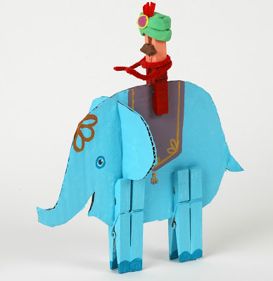 cardboard-elephant
