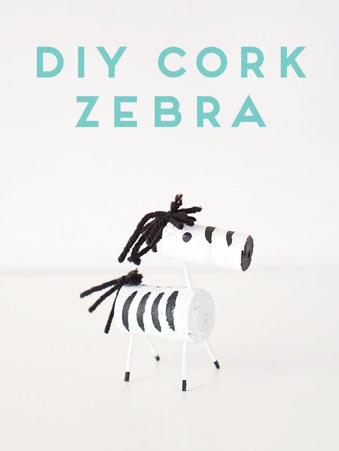 diy-cork-zebra