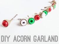diy-acorn-garland