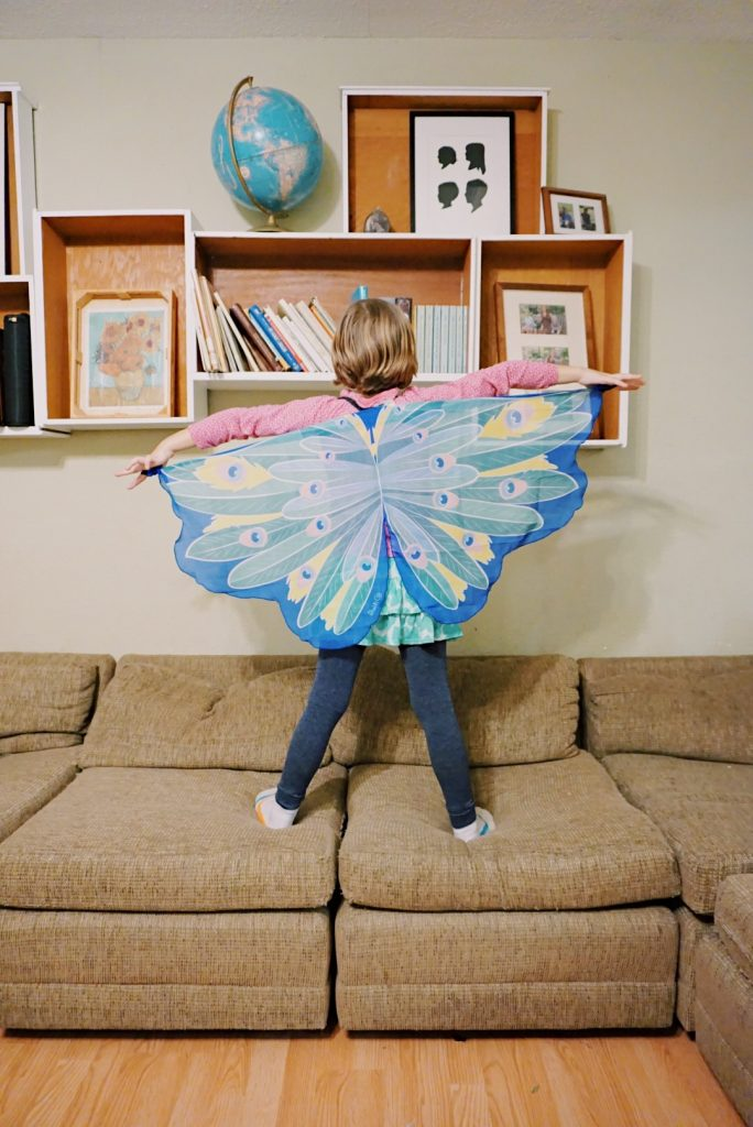 peacock wings gifts for kids