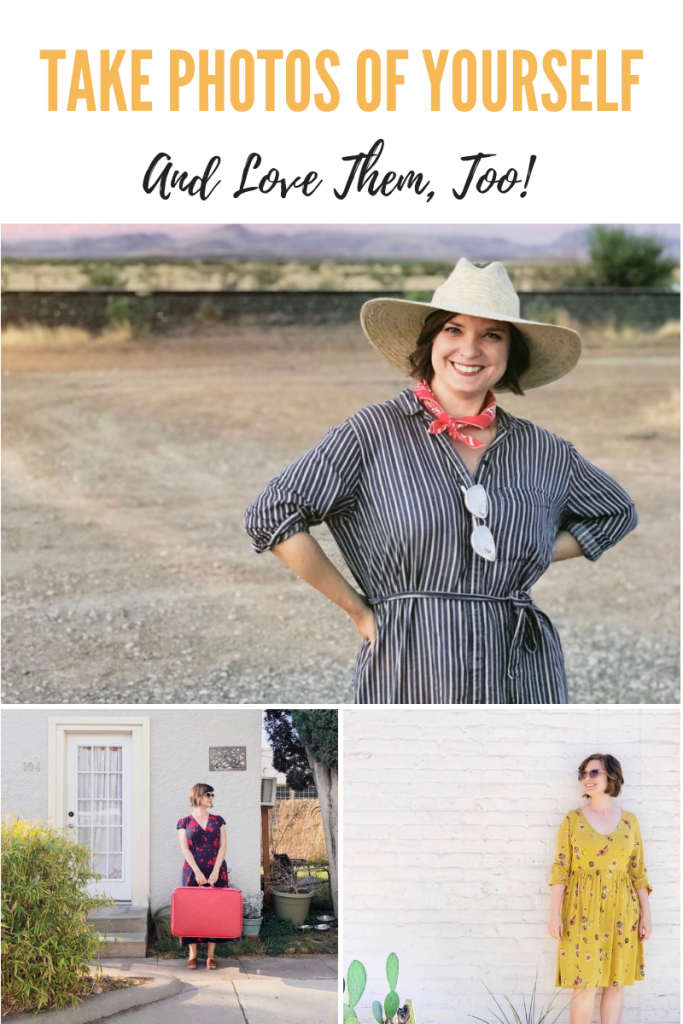 How to Take Photos of Yourself and Love Them, Too! Maker Mama