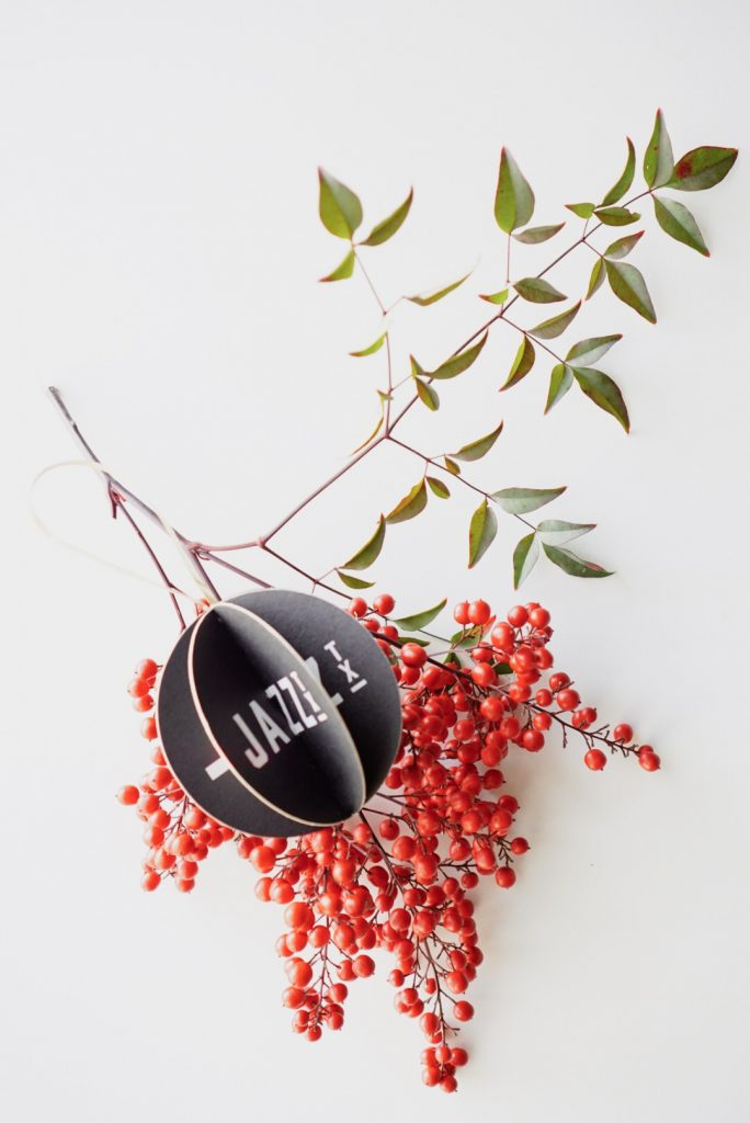 DIY Drink Coaster Ornaments | Holiday Craft by Maker Mama