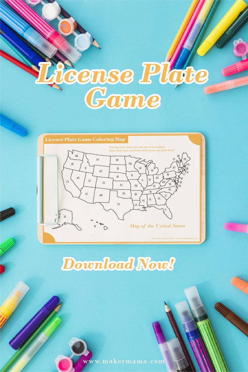 License Plate Game Social SideBar
