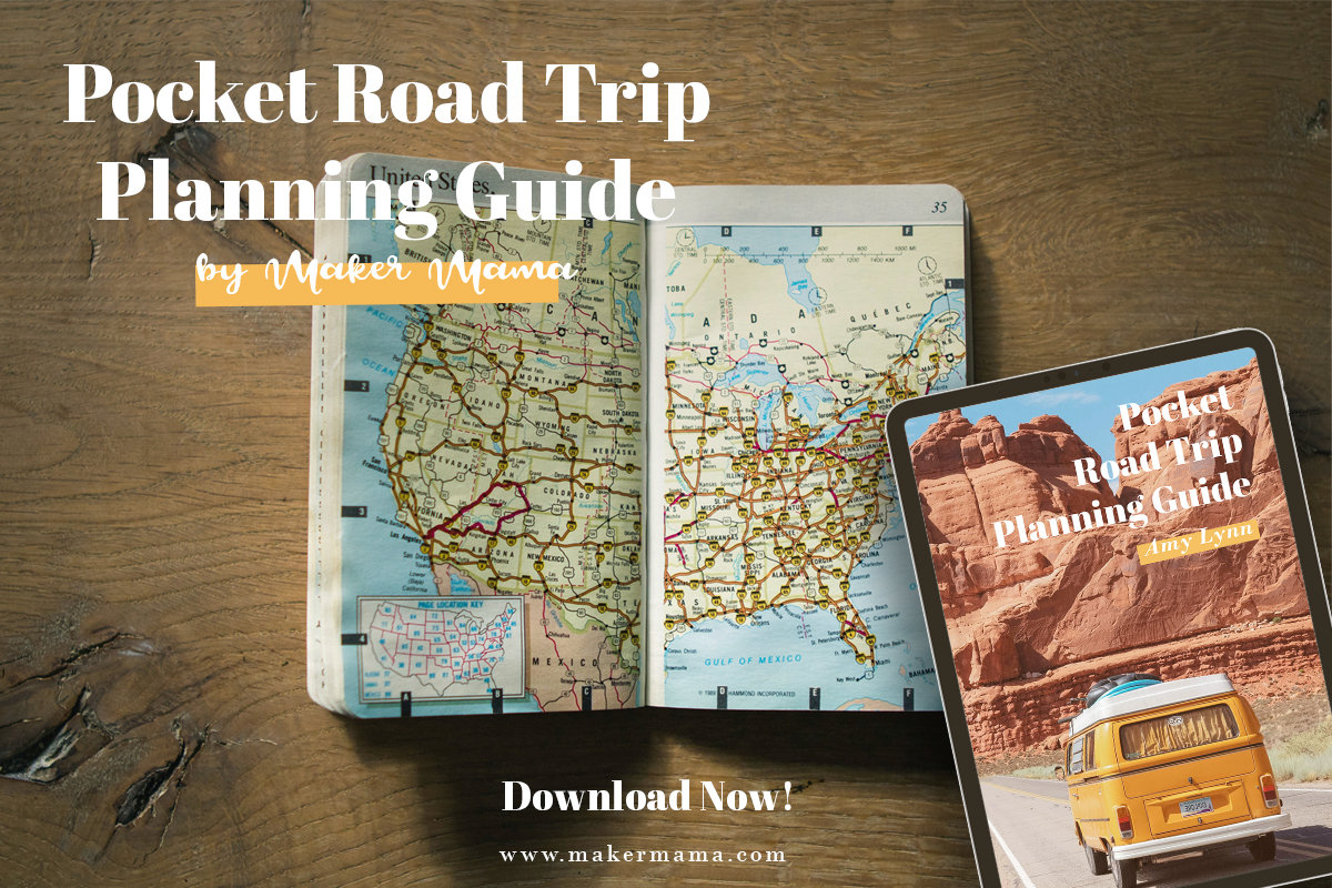 Pocket Road Trip Planning Guide Social Blog